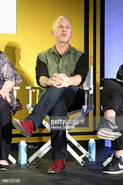 Ryan Murphy speaks onstage during Entertainment Weekly's first ever 'EW Fest' presented by LG OLED TV on October 24 2015 in New York City