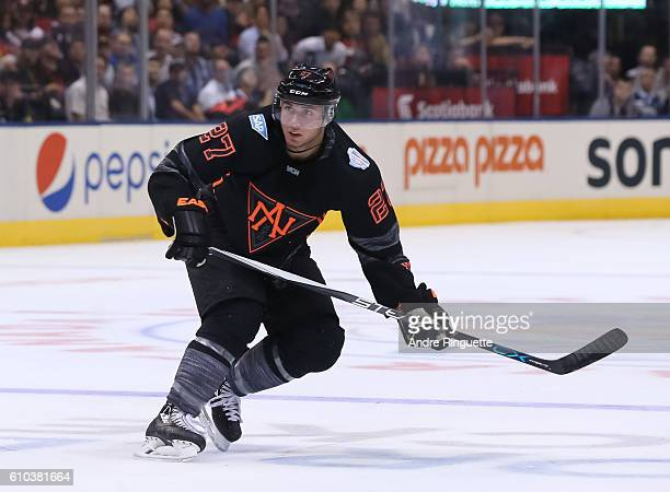 Ryan Murray of Team North America skates against Team Russia during the World Cup of Hockey 2016 at Air Canada Centre on September 19 2016 in Toronto...