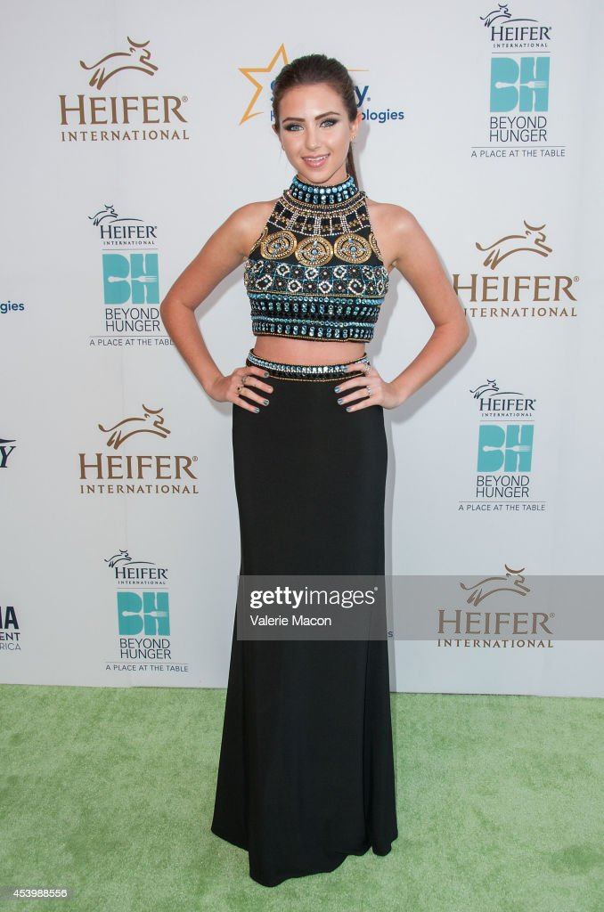 Ryan Newman arrives at the Heifer International's 3rd Annual 'Beyond Hunger: A Place At The Table' Gala at Montage Beverly Hills on August 22, 2014 in Beverly Hills, California.