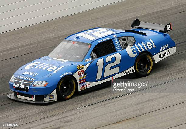 Ryan Newman, driver of the Alltel Dodge, drives during the NASCAR Nextel Cup Series Dodge Avenger 500 on May 13, 2007 at Darlington Raceway in...