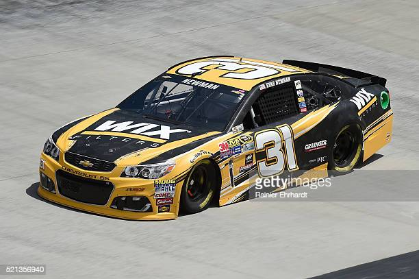 Ryan Newman driver of the WIX Chevrolet practices for the NASCAR Sprint Cup Series Food City 500 at Bristol Motor Speedway on April 14 2016 in...