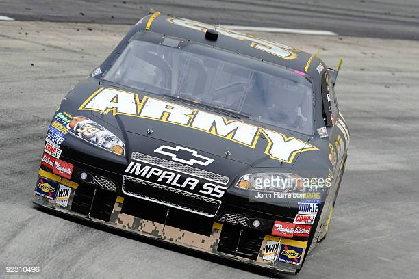 Ryan Newman drives the U.S Army Chevrolet during qualifying for the NASCAR Sprint Cup Series TUMS Fast Relief 500 at Martinsville Speedway on October...