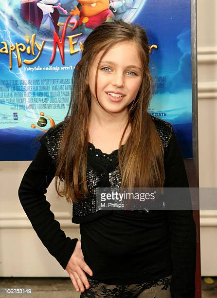 Ryan Newman during 'Happily N'Ever After' Los Angeles Premiere at The Mann Festival Theater in Westwood California United States