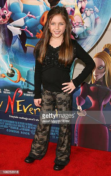 Ryan Newman during LionsGate's 'Happily N'Ever After' Los Angeles Premiere at The Mann Festival Theater in Westwood California United States