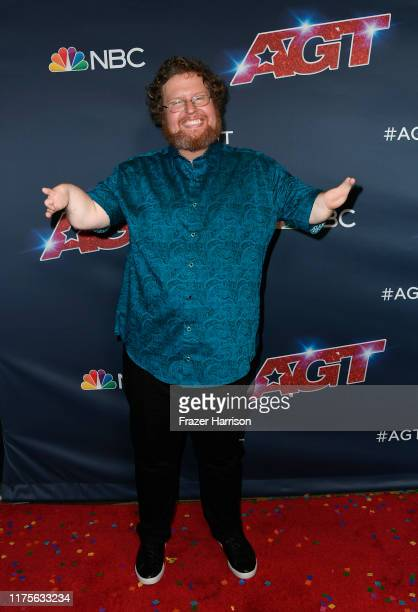 Ryan Niemiller attends America's Got Talent Season 14 Finale Red Carpet at Dolby Theatre on September 18 2019 in Hollywood California