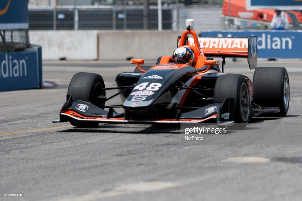 light IndyCar Series Race : News Photo