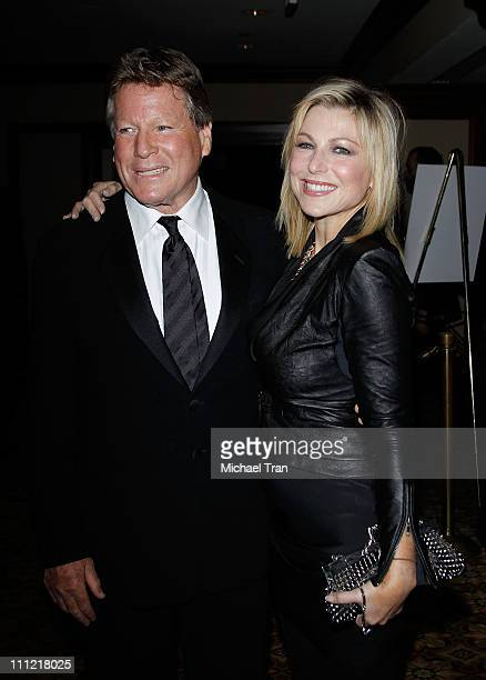 Ryan O'Neal and Tatum O'Neal arrive to the 24th Annual ASC Awards For Outstanding Achievement held at Hyatt Regency Century Plaza on February 27 2010...