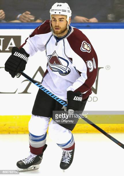 Ryan O'Reilly of the Colorado Avalanche plays in a game against the St Louis Blues at the Scottrade Center on January 19 2015 in St Louis Missouri