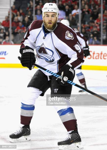 Ryan O'Reilly of the Colorado Avalanche plays in the game against the Calgary Flames at Scotiabank Saddledome on March 23 2015 in Calgary Alberta...