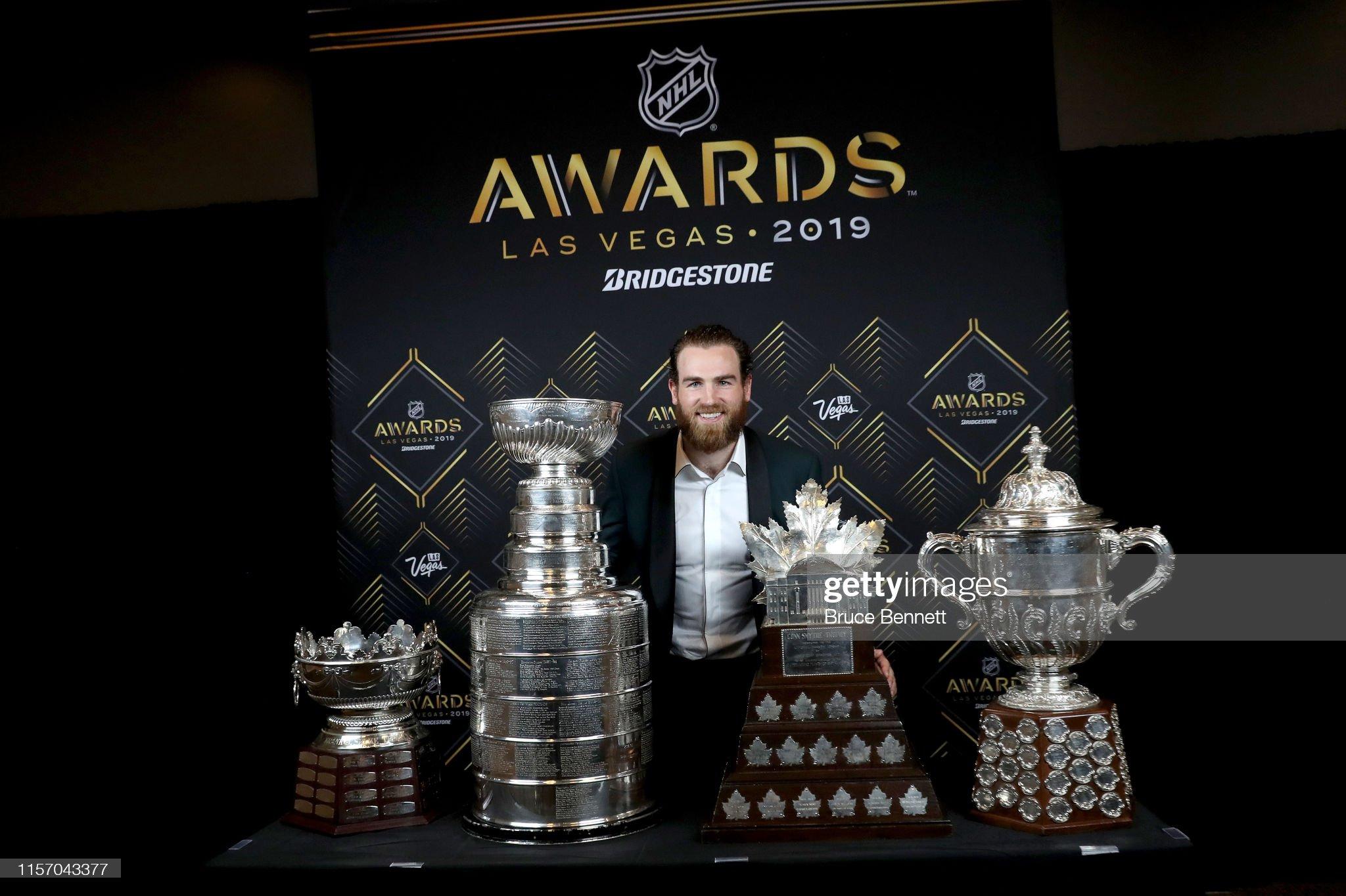 2019 NHL Awards : News Photo
