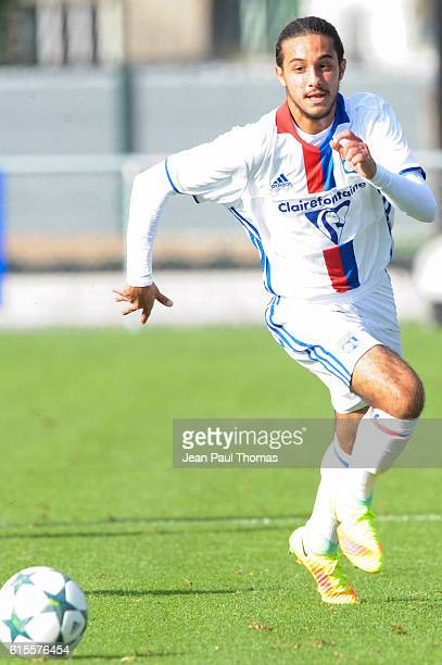 Ryan OUAZINE of Lyon during the Youth League match between Lyon and Juventus at Plaine des Jeux de Gerland on October 18 2016 in Lyon France