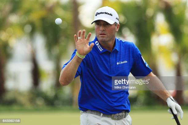 Ryan Palmer of the United States during the third round of The Honda Classic at PGA National Resort and Spa on February 25 2017 in Palm Beach Gardens...