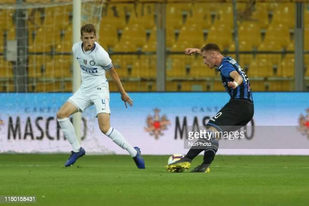 Ryan Patrick Nolan and Dejan Kulusevski during the Serie A Primavera TIM final match between Atalanta BC U19 and FC Internazionale U19 at Ennio...