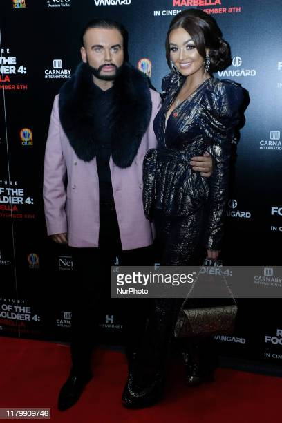 Ryan Paul Antony and Leah Fletcher Attends the premiere of Rise of the Footsoldier 4 Marbella out in cinemas amp digital HD from Friday 8th November...