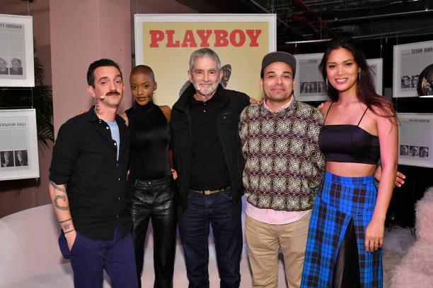NY: Playboy Playhouse Press Brunch