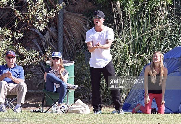 Ryan Phillippe and Paulina Slagter are seen in Brentwood on November 3 2012 in Los Angeles California