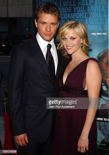Ryan Phillippe and Reese Witherspoon during 'Crash' Los Angeles Premiere Arrivals at The Academy of Motion Picture Arts and Sciences in Beverly Hills...