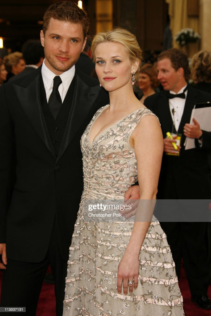 "Ryan Phillippe and Reese Witherspoon, nominee Best Actress in a Leading Role for ""Walk the Line"""