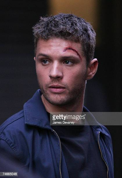 ryan phillippe and abbie cornish on film set of an untitled movie in