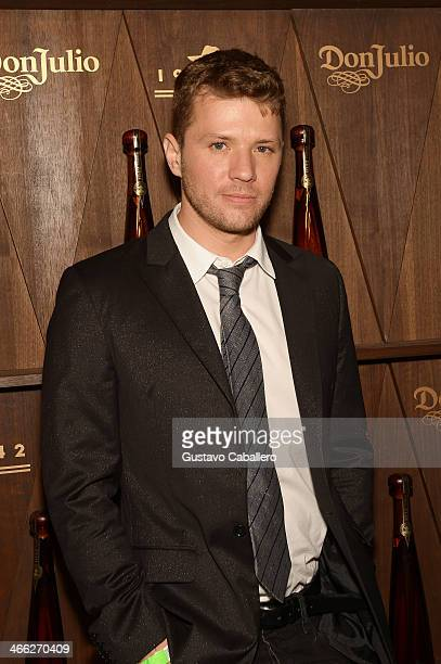 Ryan Phillippe attends the Tequila Don Julio 1942 Party at the Diageo Liquid Cellar on January 31 2014 in New York City