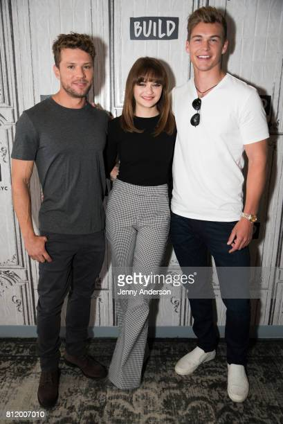 Ryan Phillippe Joey King and Mitchell Slaggert attend AOL Build at Build Studio on July 10 2017 in New York City