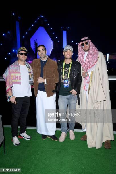 Ryan Phillippe Mohammed Al Turki Ed Westwick and Armie Hammer attend the MDL Beast Festival on December 20 2019 in Riyadh Saudi Arabia