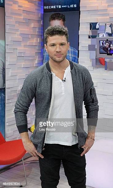 AMERICA Ryan Phillippe of ABC's 'Secrets and Lies' is a guest on 'Good Morning America' 2/26/15 airing on the ABC Television Network