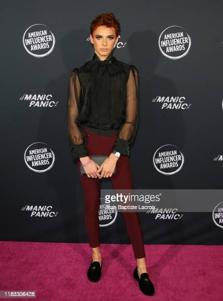 Ryan Potter attends the 2nd Annual American Influencer Awards at Dolby Theatre on November 18 2019 in Hollywood California