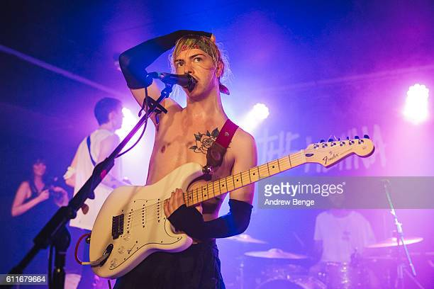 Ryan Potter of The Hunna peforms at The Wardrobe on September 30 2016 in Leeds England