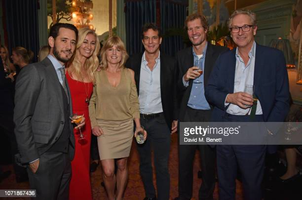 Ryan Prince Jenny Halpern Prince Rachel Johnson Brent Hoberman Hugh Fitzwilliam Lay and John Witherow join Hornby and Halpern Prince at their annual...