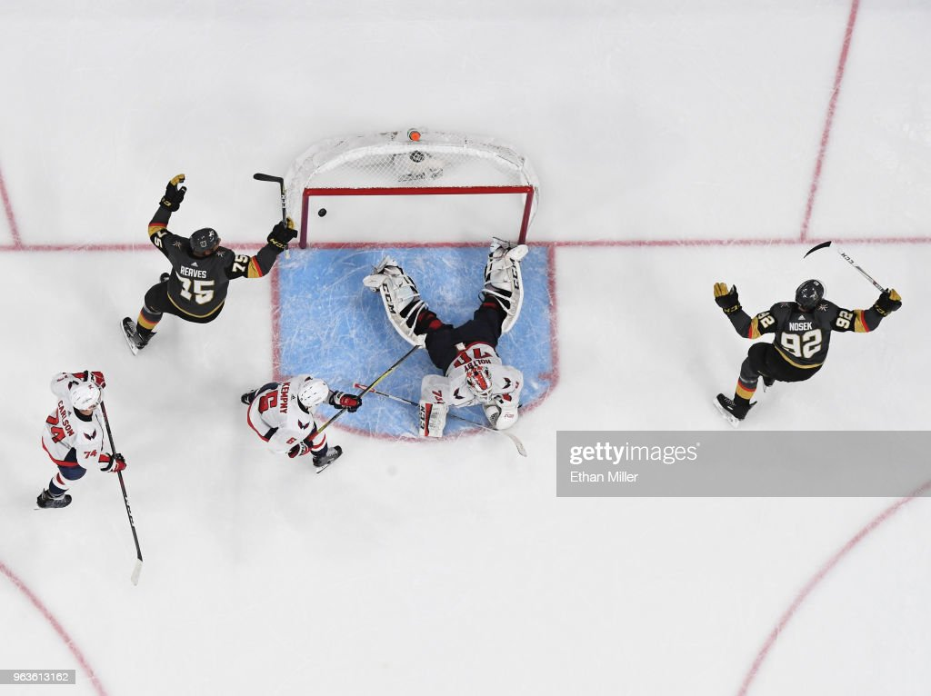 2018 NHL Stanley Cup Final - Game One : News Photo
