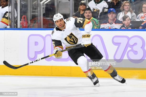 Ryan Reaves of the Vegas Golden Knights skates during the game against the Edmonton Oilers on November 18 2018 at Rogers Place in Edmonton Alberta...