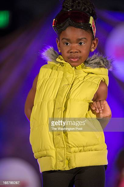 Ryan Redmond displays her sportswear at the 3rd Annual Glynn Jackson's Show Biz Kidz at The Silver Spring Civic Building in Silver Spring Maryland on...