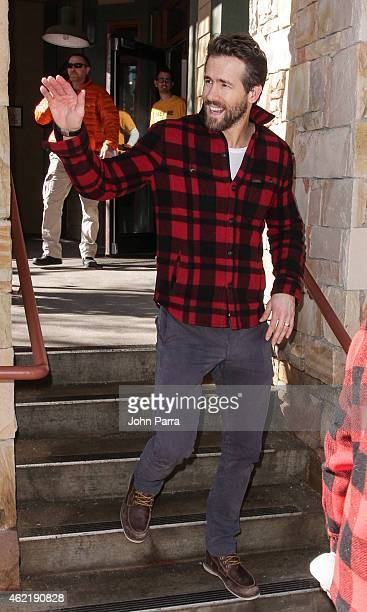 Ryan Renolds attends Columbia At The Village At The Lift on January 25 2015 in Park City Utah