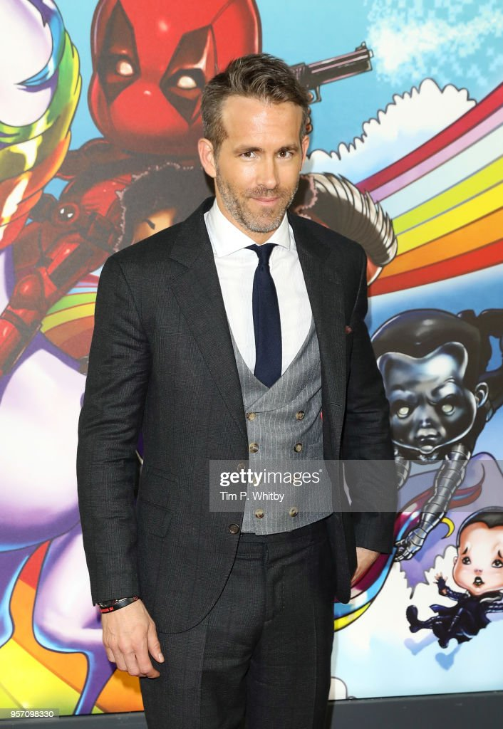 Ryan Renolds attends the 'Deadpool 2' photocall at Empire Casino Leicester Square on May 10, 2018 in London, England.