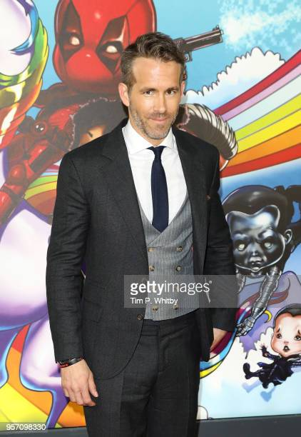 Ryan Renolds attends the 'Deadpool 2' photocall at Empire Casino Leicester Square on May 10 2018 in London England