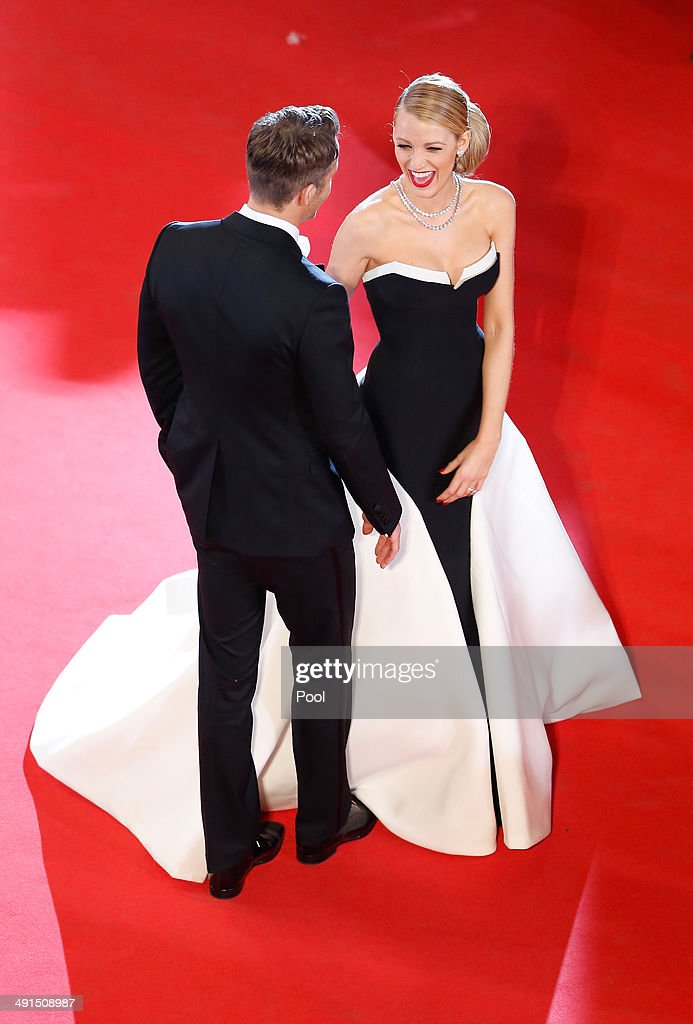 Ryan Reynolds and Blake Lively attend the 'Captives' premiere during the 67th Annual Cannes Film Festival on May 16, 2014 in Cannes, France.