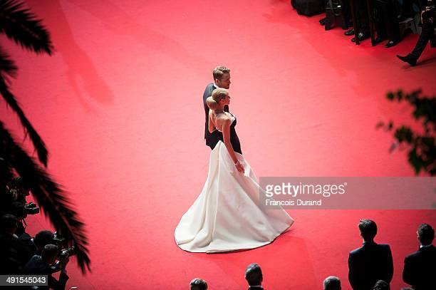 Ryan Reynolds and Blake Lively attend the Premiere of 'Captives' at the 67th Annual Cannes Film Festival on May 16 2014 in Cannes France