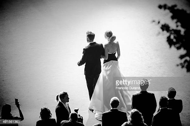 """Ryan Reynolds and Blake Lively attend the Premiere of """"Captives"""" at the 67th Annual Cannes Film Festival on May 16, 2014 in Cannes, France."""