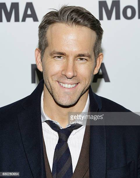 Ryan Reynolds attends The Contenders Screening of DEADPOOL With Ryan Reynolds at MOMA on December 19 2016 in New York City