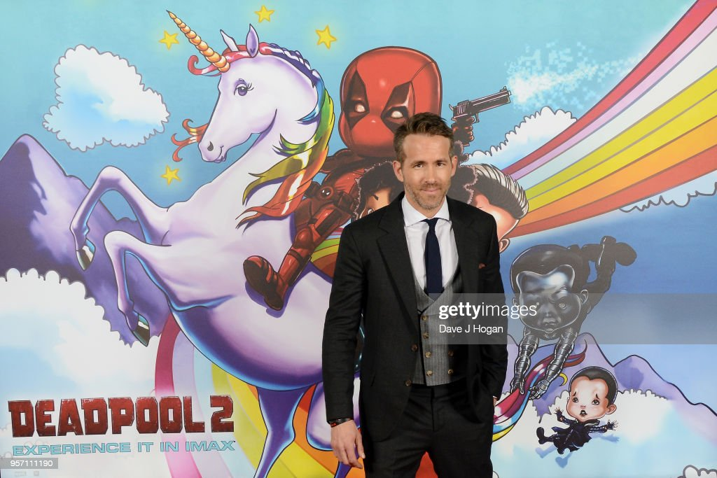 Ryan Reynolds attends the 'Deadpool 2' fan screening at Cineworld Leicester Square on May 10, 2018 in London, England.