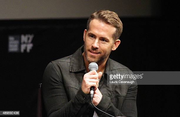 Ryan Reynolds attends The Film Society Of Lincoln Center Sneak Previews 'Mississippi Grind' at The Film Society of Lincoln Center Walter Reade...