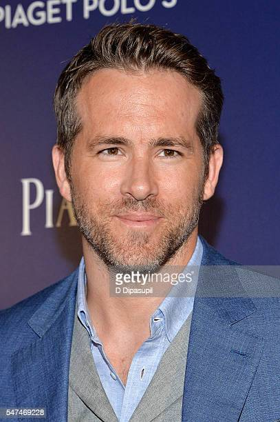 Ryan Reynolds attends the Piaget new timepiece launch at the Duggal Greenhouse on July 14, 2016 in New York City.