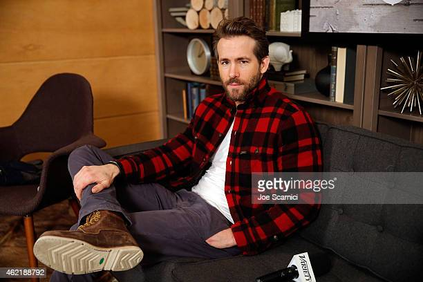 Ryan Reynolds attends The Variety Studio At Sundance Presented By Dockers on January 25, 2015 in Park City, Utah.