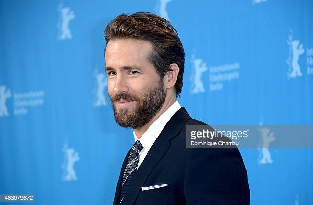 Ryan Reynolds attends the 'Woman in Gold' photocall during the 65th Berlinale International Film Festival at Grand Hyatt Hotel on February 9 2015 in...