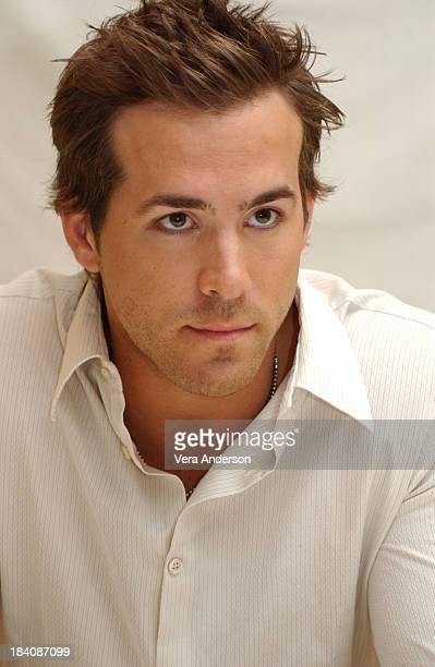 Ryan Reynolds during The Amityville Horror Press Conference with Ryan Reynolds and Melissa George at Four Seasons Hotel in Beverly Hills California...