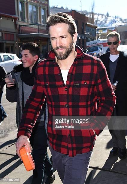 Ryan Reynolds is seen on January 25 2015 in Park City Utah