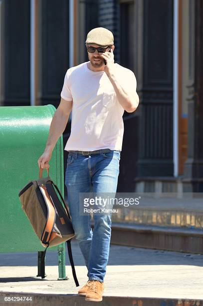 Ryan Reynolds seen out in Manhattan on May 17 2017 in New York City