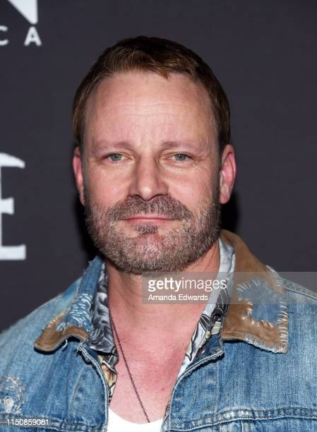 Ryan Robbins arrives at WGN America's Pure Season 2 Premiere on May 21 2019 in West Hollywood California