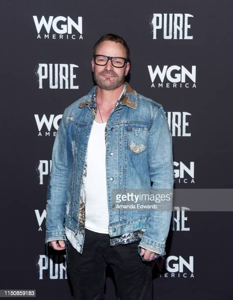 """Ryan Robbins arrives at WGN America's """"Pure"""" Season 2 Premiere on May 21, 2019 in West Hollywood, California."""